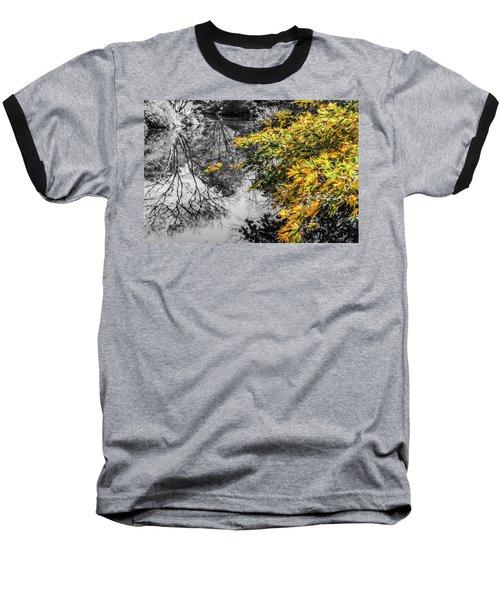Japanese Maple Pop Baseball T-Shirt