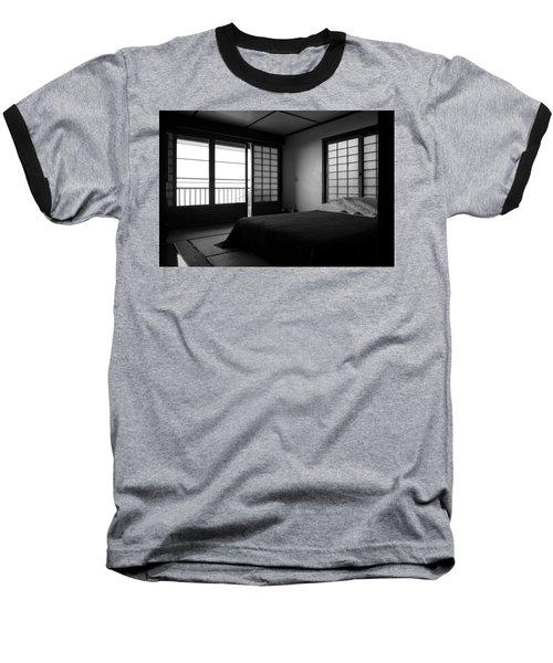 Japanese Style Room At Manago Hotel Baseball T-Shirt by Lori Seaman