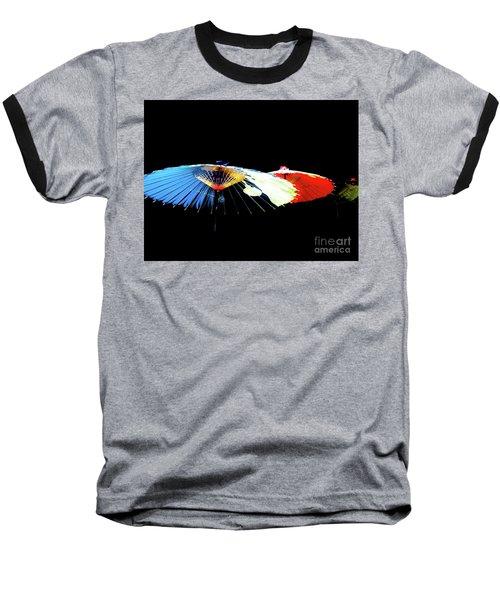 Japanese Umbrellas Assorted Colors Baseball T-Shirt