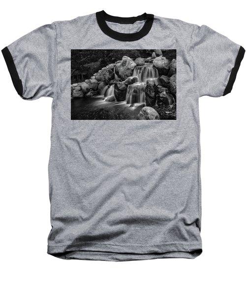 Japanese Waterfalls Baseball T-Shirt