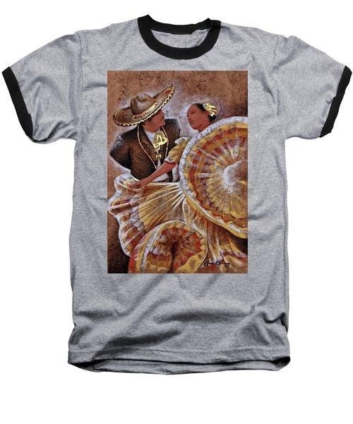 Jarabe Tapatio Dance Baseball T-Shirt