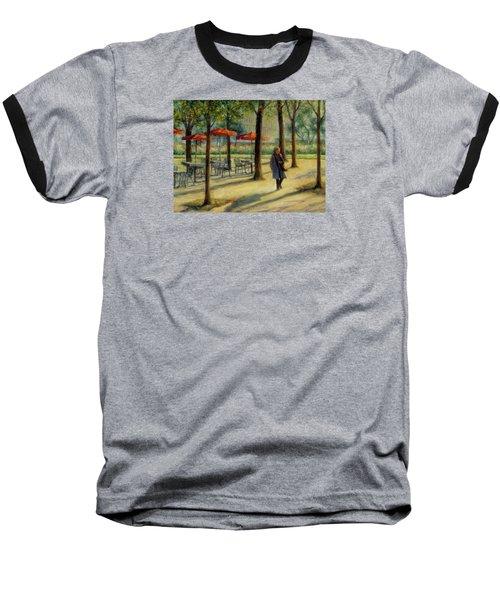 Jardin Des Tuileries In October Baseball T-Shirt