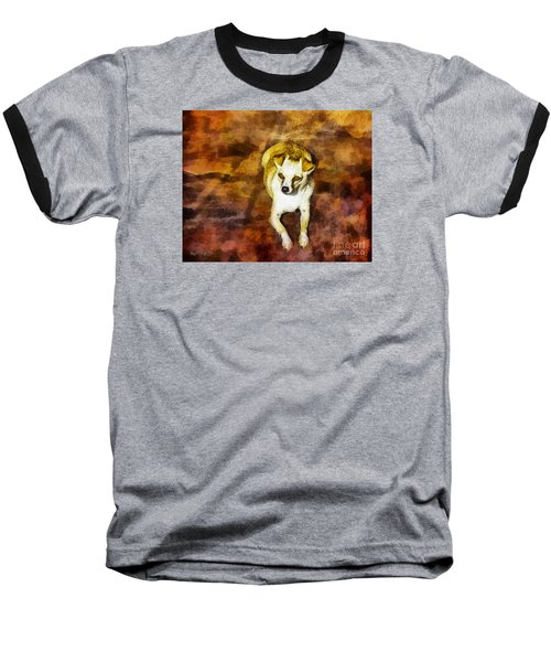 Baseball T-Shirt featuring the photograph Jasper by Rhonda Strickland