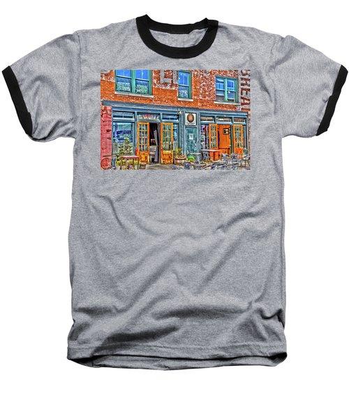 Java House Baseball T-Shirt