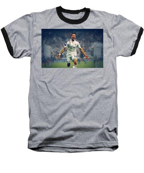 Javier Hernandez Balcazar Baseball T-Shirt by Semih Yurdabak