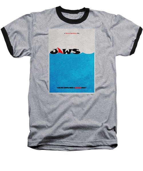Jaws Baseball T-Shirt