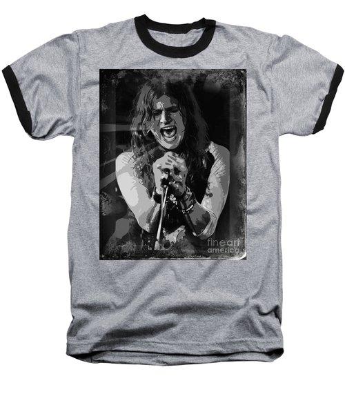 Baseball T-Shirt featuring the mixed media Jay Buchanan by Jeepee Aero