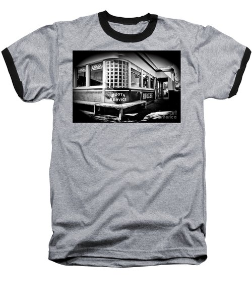 Baseball T-Shirt featuring the photograph Jax Diner, Truckee by Vinnie Oakes