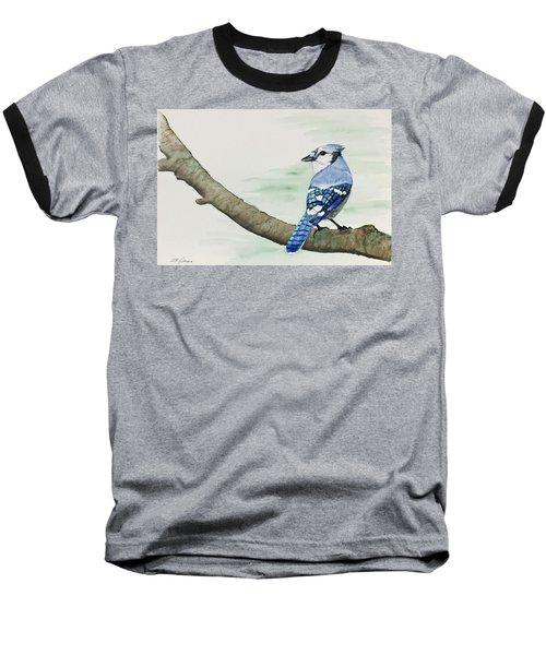 Jay In The Pine Baseball T-Shirt