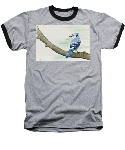 Jay In The Pine Baseball T-Shirt