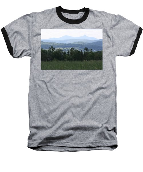 Jay Peak From Irasburg Baseball T-Shirt