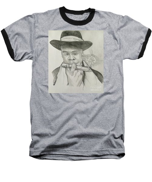 Jay-z Reasonable Doubt 20th Baseball T-Shirt by Gregory Taylor