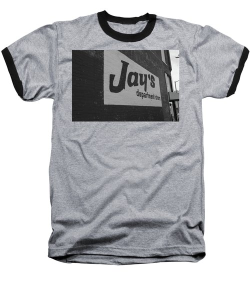 Jay's Department Store In Bw Baseball T-Shirt