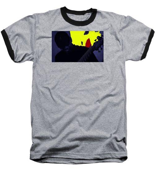 Jazz 12 Baseball T-Shirt by David Gilbert