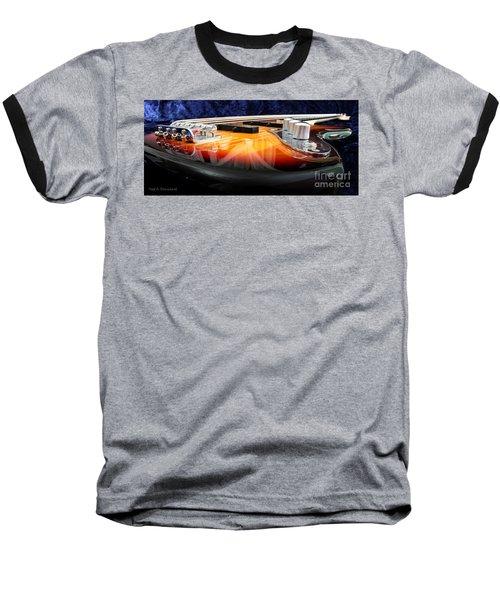 Jazz Bass Beauty Baseball T-Shirt