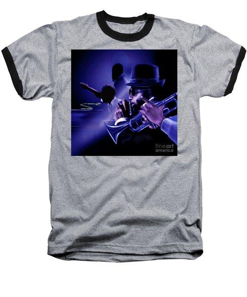 Jazz In Da Dusk Baseball T-Shirt