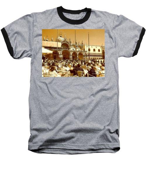 Jazz In Piazza San Marco Baseball T-Shirt