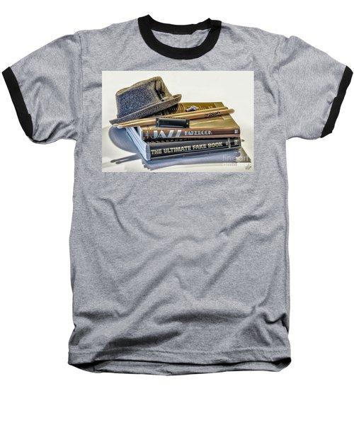 Baseball T-Shirt featuring the photograph Jazz by Walt Foegelle