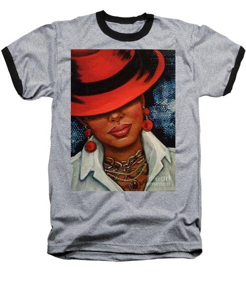 Jazzy Baseball T-Shirt by Alga Washington