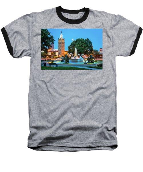 J.c. Nichols Memorial Fountain Baseball T-Shirt