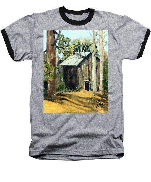 Jd's Backker Barn Baseball T-Shirt by Jim Phillips