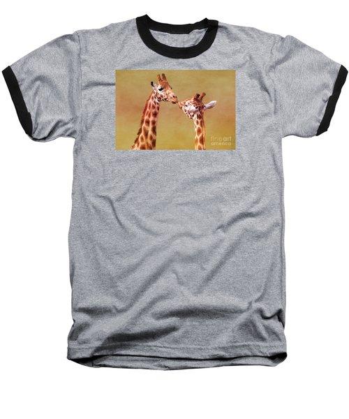 Je T'aime Giraffes Baseball T-Shirt