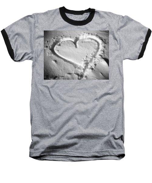 Winter Heart Baseball T-Shirt