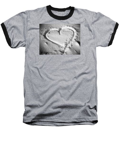 Winter Heart Baseball T-Shirt
