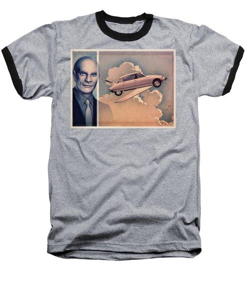 Jean Marais / Fantomas 1964 Baseball T-Shirt