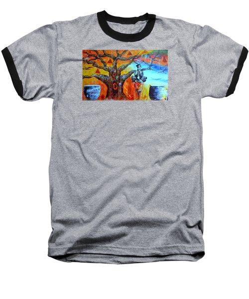 Jeanilia Baseball T-Shirt by Fania Simon