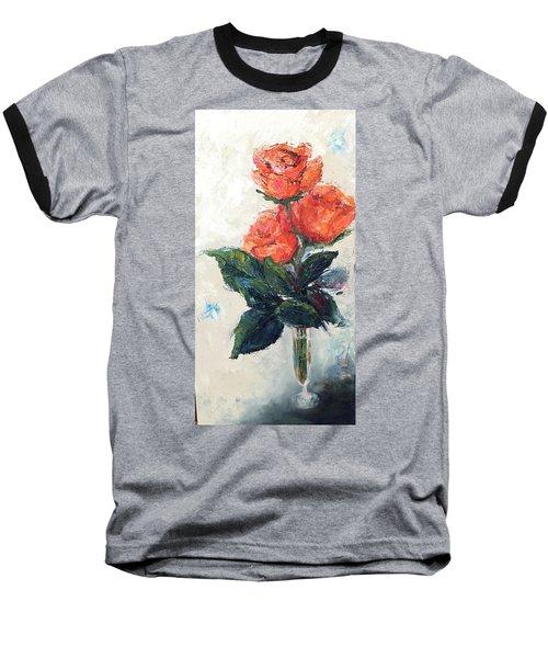 Jeannie's Roses Baseball T-Shirt