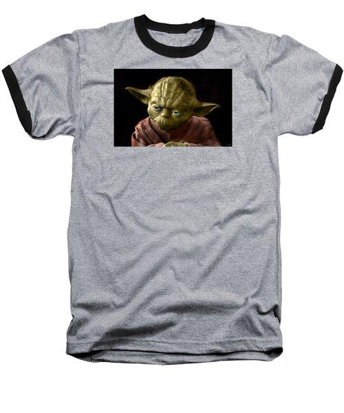 Jedi Yoda Baseball T-Shirt