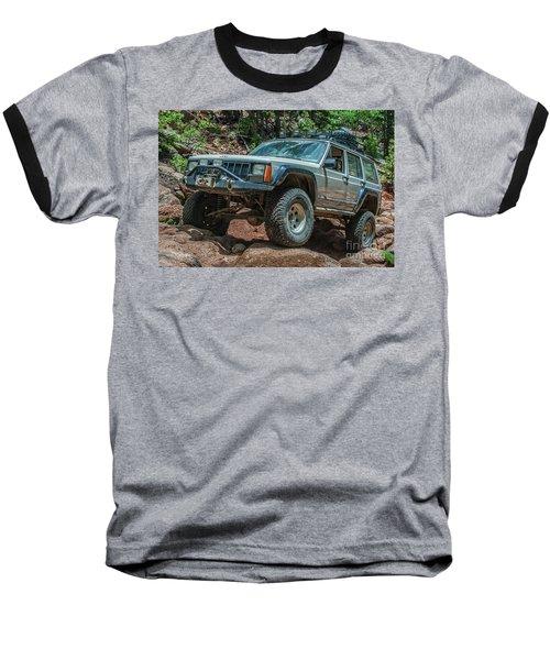 Jeep Cherokee Baseball T-Shirt