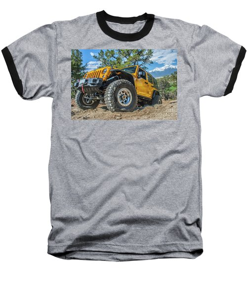 Jeep Life Baseball T-Shirt