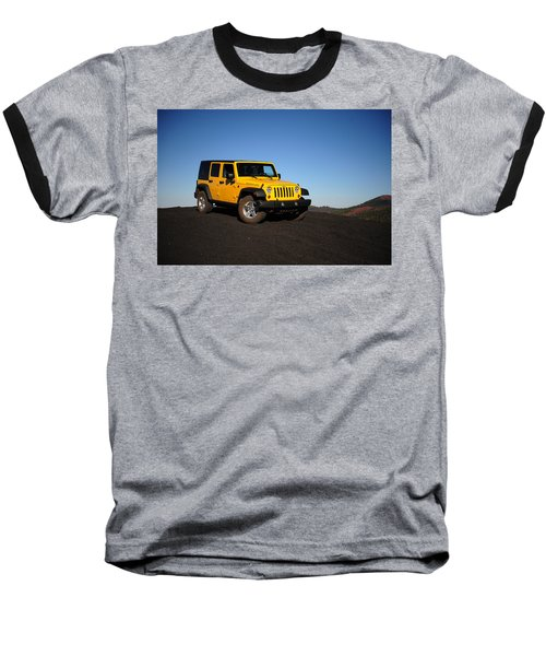 Jeep Rubicon In The Cinders Baseball T-Shirt