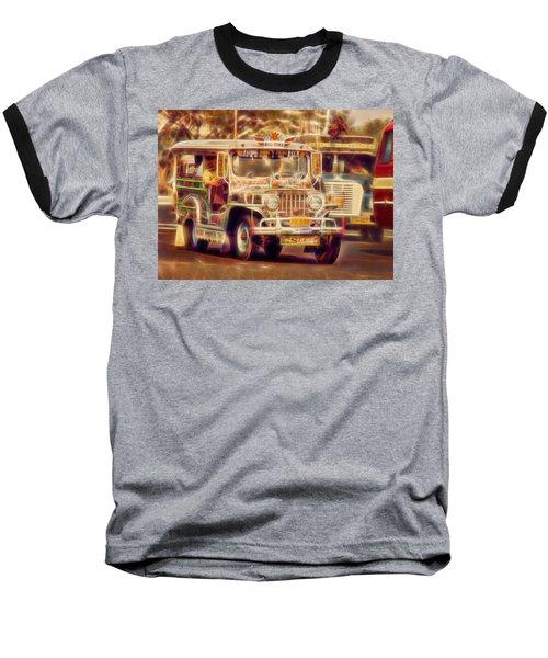 Jeepney Manila Baseball T-Shirt