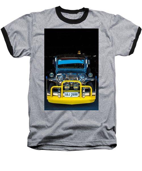 Jeepney, Manila Baseball T-Shirt