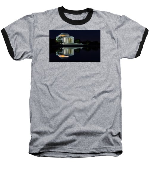 The Jefferson At Night Baseball T-Shirt