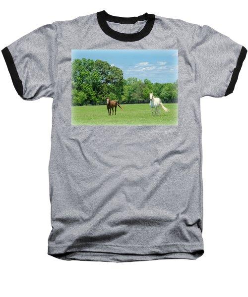Jefferson Landing Series No. 3 Baseball T-Shirt by Laura DAddona