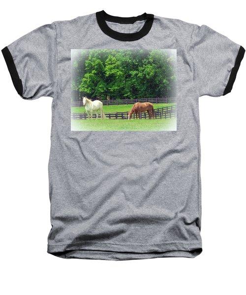 Jefferson Landing Series No. 5 Baseball T-Shirt by Laura DAddona