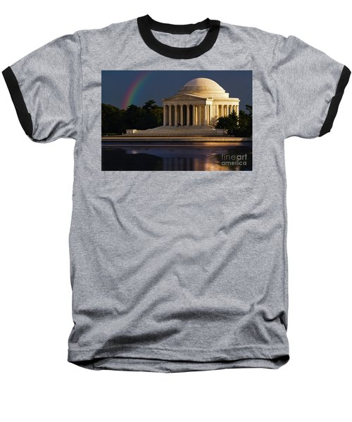 Jefferson Memorial Baseball T-Shirt