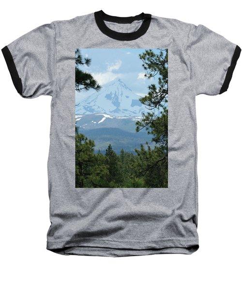 Baseball T-Shirt featuring the photograph Jefferson Pines by Laddie Halupa