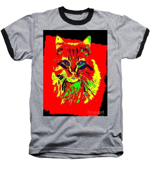 Jekyll The Cat Baseball T-Shirt