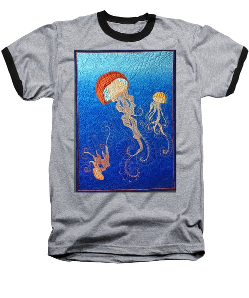 Jellies Of The Sea Baseball T-Shirt