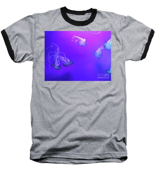 Jellyfish 1 Baseball T-Shirt