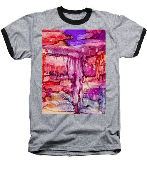 Jellyfish Baseball T-Shirt by Alene Sirott-Cope
