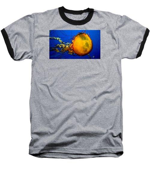 Jellyfish Baseball T-Shirt by David Gilbert