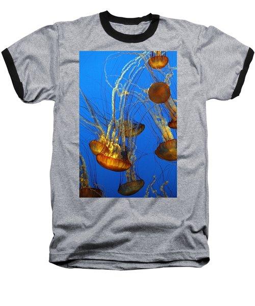 Jellyfish Family Baseball T-Shirt
