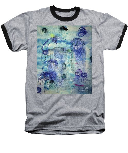 Jellyfish I Baseball T-Shirt