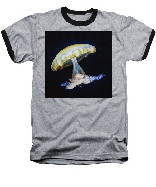 Baseball T-Shirt featuring the photograph Jellyfish No. 1 by Alan Toepfer